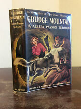 GRUDGE MOUNTAIN By Albert Payson Terhune - 1939 - 1st ed in dj