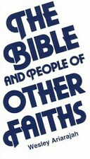 The Bible and People of Other Faiths by S.Wesley Ariarajah Paperback Book The