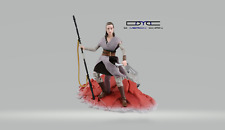 New STAR WARS Black Series DX 6in Figure REY (JEDI TRAINING) Japan TAKARA TOMY