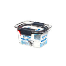 Sistema Brilliance Container, 380ml Leakproof Storage Box Microwaveable Vents