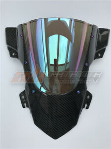 BMW S1000RR 2015-2018 Wind shield  WindScreen With Carbon Fiber Colorful Color