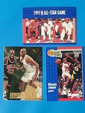 Michael Jordan 1991 1992  220 All Star Game 233 Fleer  3 card Lot