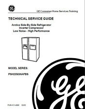 One Of Various GE Refrigerator Service & Repair Manuals