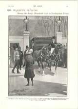 1902 Madagascar Expedition For Strange Animals Royal Flit To Buckingham Palace