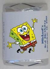 30 PERSONALIZED SPONGEBOB BIRTHDAY PARTY  NUGGET CANDY WRAPPER LABELS FAVORS