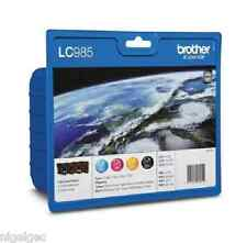 BROTHER Set di 4 LC985 per dcp-j125-j315w - 985 ORIGINALE