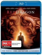 Red Dragon - Blu-ray Very Good Condition - Anthony Hopkins Edward Norton
