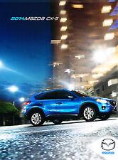 2014 Mazda CX-5 CX5 32-page Original Sales Brochure Catalog