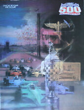 Vintage 1988 Indy 500 Race Program 72nd Annual Rick Mears 3rd Win