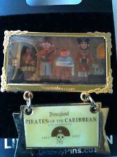 Disney 40th Anniversary Dangle Pirate Quintet Pin LE