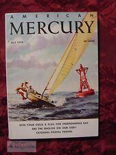 AMERICAN MERCURY July 1958 Harold Lord Varney Bob Shuler George Carroll