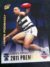 2011 AFL SELECT GEELONG CATS JAMES PODSIADLY PC8 PREMIERSHIP PREMIERS CARD