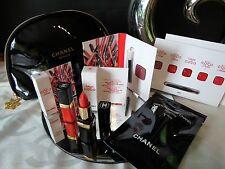 Original Chanel Set: Kosmetiktasche, Lippenstift, Mascara, Lipgloss Neu!