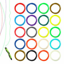 New 20pcs 1.75mm Printing Filament ABS Modeling For 3D Drawing Printer Pen