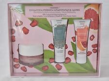 Korres Complete Care for oily skin Pomegranate Cream-Gel / Green Clay Mask /
