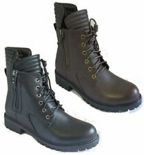 Block Heel Spot On Synthetic Boots for Women