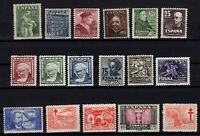 P135084/ SPAIN STAMPS – YEARS 1944 - 1947 MINT MNH / MH – CV 125 $
