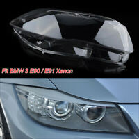 Popular Right Xenon Headlight Lens Headlamp Shell Fit for BMW 3 Series E90 Sedan