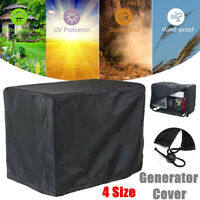 4 Size Portable Waterproof Generator Cover Dust Water Engine Shelter Protector