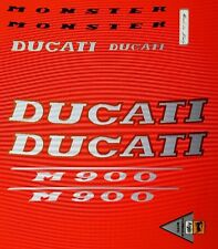 DUCATI MONSTER 900  MODEL  PAINTWORK DECAL KIT
