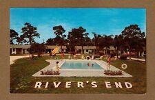 New Port Richey,FL Florida, River's End Motor Court Mr & Mrs T.R.Fohlbrook owner