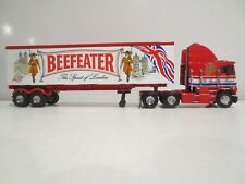 BEEFEATER MATCHBOX TRUCK & TRAILER 1:58 SCALE PERFECT CONDITION W/COA