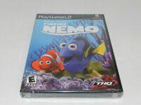 Disney Finding Nemo Sony Playstation 2 PS2 Game Brand New Sealed NIB Dory