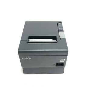 Epson TM-T88V M244A USB & Serial Thermal Receipt Printer Only Tested & Working
