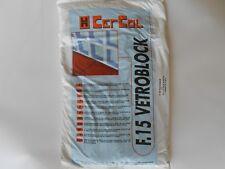 Adesivo,colla,malta,sigillante per vetromattoni F.15 Vetroblock sacco kg. 5