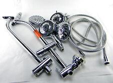 2 Glacier Bay American Stand 8473100Gw 5-Spray ShowerHead Kits Chrome 1000055744