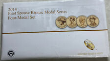 2014 First Spouse Bronze Medal Series Four-Medal Set