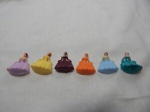 "Dollhouse Miniature 1/4""  Scale Plastic Figurine Group Set 1"" Tall  #Z217 B"