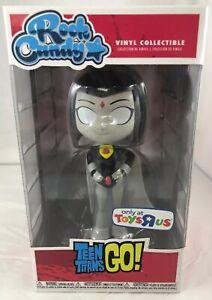 Funko Rock Candy Black & Grey Raven Teen Titans Go Toys R Us Exclusive NEW