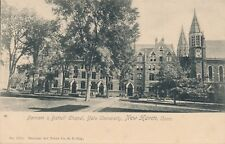 NEW HAVEN CT – Yale University Farnam and Battell Chapel – udb (pre 1908)