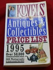 Kovels'   ANTIQUES & COLLECTIBLES PRICE LIST 1995, Paperback) 0517884623