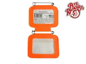 RICKARDS - NEW DELUXE DOUBLE PA HUNTING LICENSE HOLDER