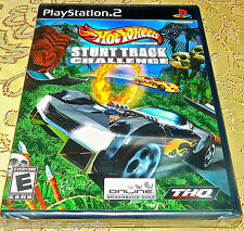 Hot Wheels Stunt Track Challenge Sony PlayStation 2 PS2 SYSTEM GAME SEALED NEW