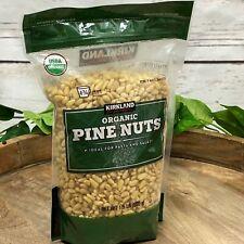Organic Raw Pine Nuts Kirkland Signature 1.5 lb Pesto Pasta Salad Resealable Bag