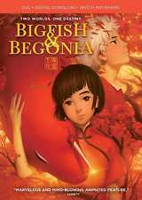 Big Fish & Begonia - Factory Sealed - Kids Dvd + Digital