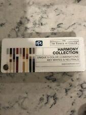 PPG - PPG Paints The Voice Of Color Harmony Collection Fan Deck Color Swatch Bok