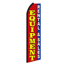 EQUIPMENT Advertising Sign Swooper Feather Flutter Banner Flag Only