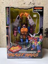 Transformers Beast Wars Optimal Optimus Transmetals New Sealed In Box!  TF-1