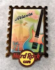 HARD ROCK CAFE ATLANTA POSTAGE STAMP CITY SERIES PIN # 75179