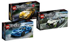 LEGO® Speed Champions 76900 76901 76902 Koenigsegg Toyota McLaren - neu, ovp