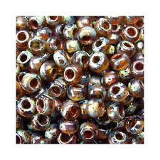Miyuki Seed Beads 11/0 Picasso Lt Smoky Topaz 11-4505 23g Round Transparent