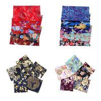 20pcs 25x20cm Baumwolle Patchworks Stoffe Nähen Stoff Patches für DIY Kimono