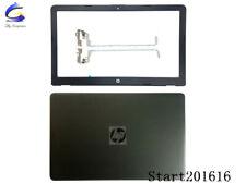 New For HP 15-BS015DX 15T-BR 15T-BS 15Z-BW Lcd Back Cover Top Case Bezel hinges