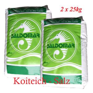50kg Salz Koiteich Koi Teichsalz Koiteichsalz Meersalz Fische Fisch Teichpflege