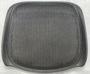 New OEM Aeron Classic Seat Pan Replacement Size C Black 3D01 LARGE
