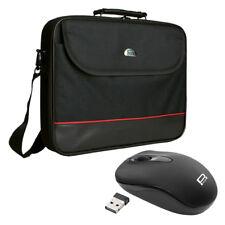 NOTEBOOK Laptop TASCHE 17,3 Zoll (43,9cm) NOTEBOOKTASCHE + schnurlose Maus